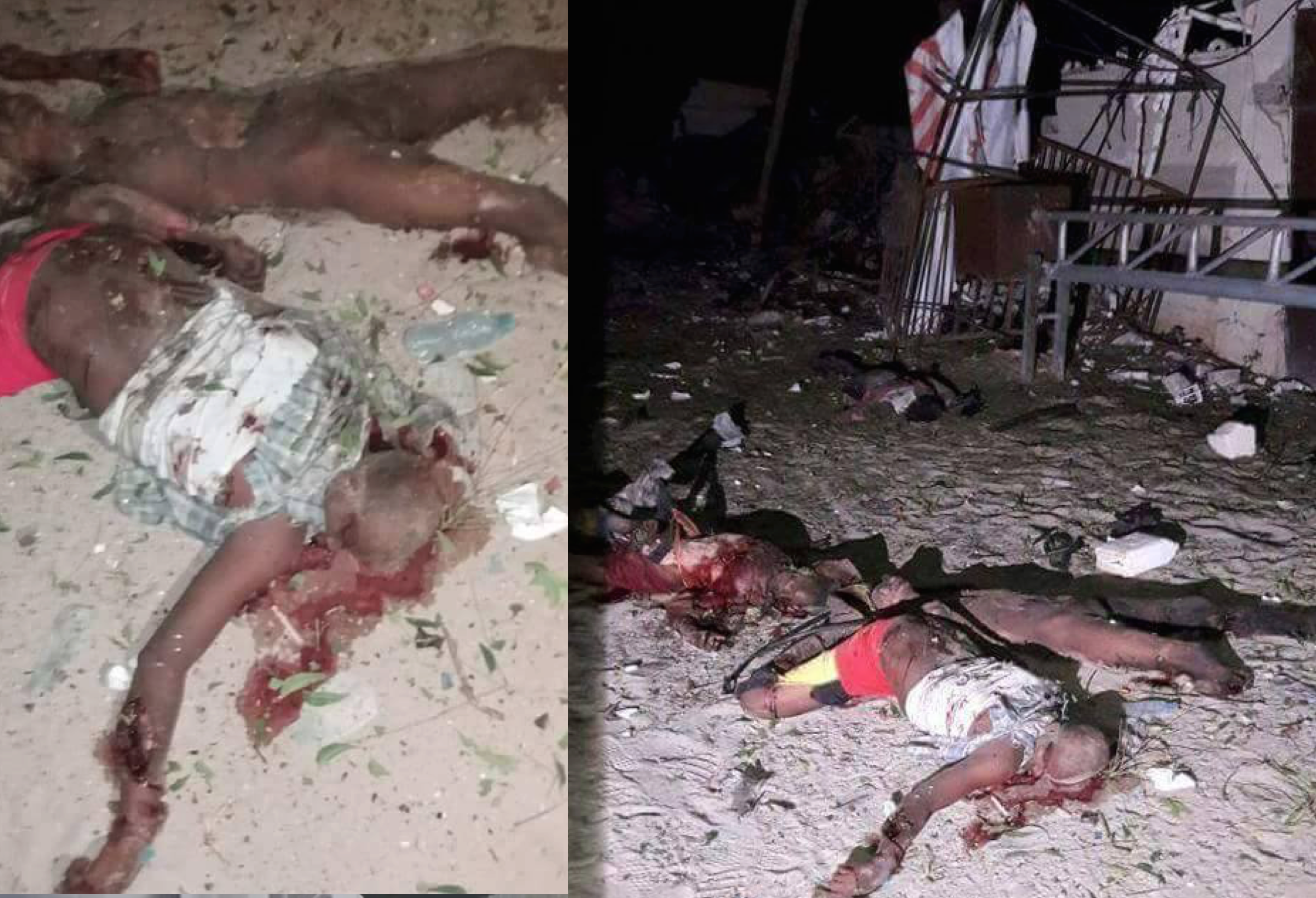 Breaking News: 17 reported dead in Somalia restaurant attack another hostages held