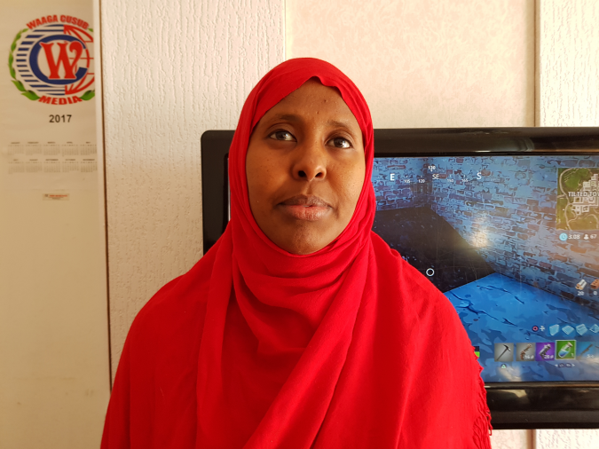 Belgium has rejected the asylum request of a woman who is a human rights and young girls' activist in Mogadishu.