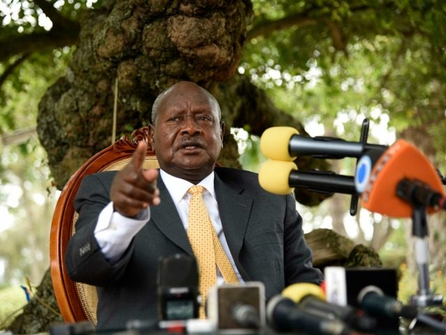 Ugandan President warns against oral sex because 'the mouth is for eating'