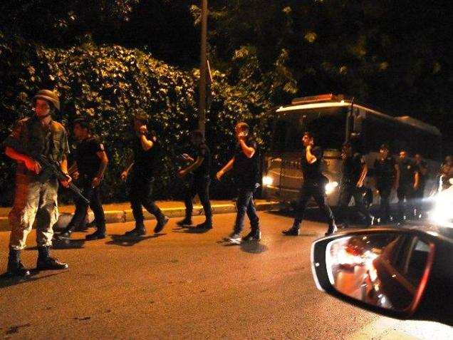 BREAKING: Turkish military says in statement that military has taken over