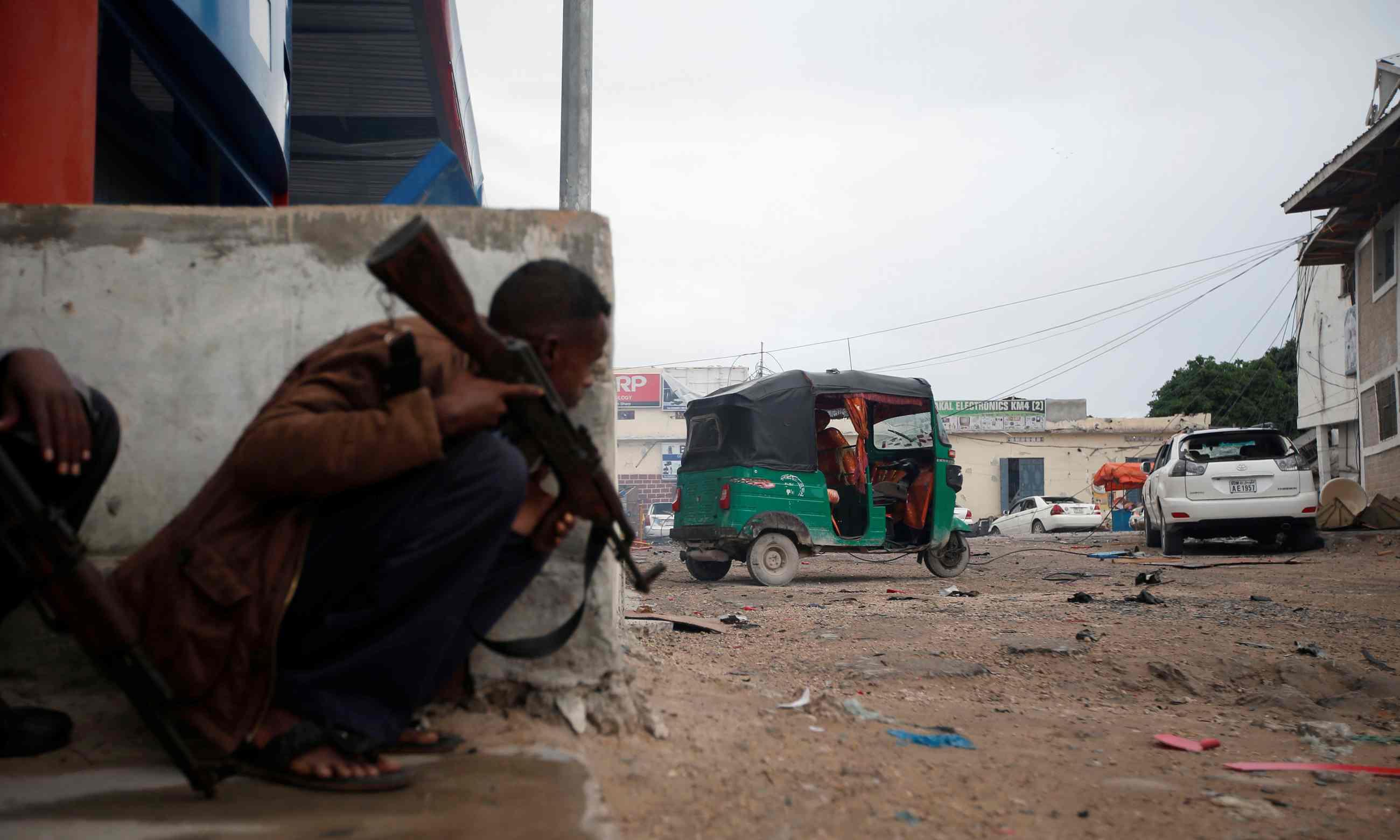Foreign troops in Somalia struggle to keep al-Shabaab at bay